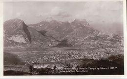 GRENOBLE Vue Panoramique Vers Le Casque De Néron Prise De La Tour Saint Venin - Grenoble