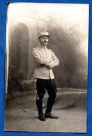 Carte Photo  - Officier Français -- 10/1918 - Guerre 1914-18