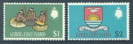 GILBERT ELLICE -  MNH/** - 1968 - VIE INDIGENE - Yv 143-144 -  Lot 18275 - 2 BIG VALUES - Îles Gilbert Et Ellice (...-1979)