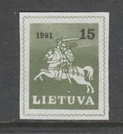 TIMBRE NEUF DE LITUANIE - GRAND DUC VITAUTAS N° Y&T 409 - Lituanie