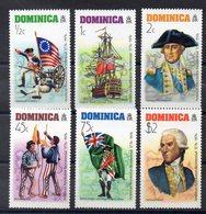 DOMINIQUE  Timbres Neufs ** De 1976  ( Ref 5834 )  Bicentenaire Des Etats Unis - Dominique (1978-...)