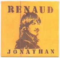 45 TOURS RENAUD VIRGIN 90408 JONATHAN / ROUGE GORGE - Vinyles