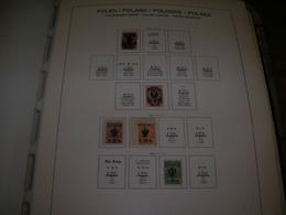 Polonia PO 1917 Legione Polonia Scott. N.2 Val.See Scan On Schaubek Page; - ....-1919 Governo Provvisiorio