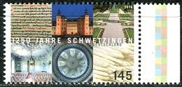 BRD - Mi 3204 - ** Postfrisch (K) - 145C  1250 Jahre Schwetzingen, Ausg. 02.01.2016 - Unused Stamps