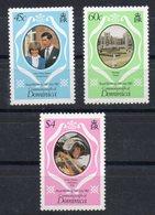 DOMINIQUE  Timbres Neufs ** De 1981  ( Ref 5836 )  Famille Royale  - Charles Et Diana Dt. 12 - Dominique (1978-...)