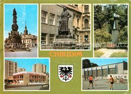 73354901 Chrudim Prumyslove Stredisko A Okresni Mesto Rodiste Vynalezce Lodniho - Schneeberg