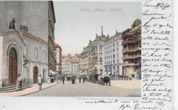 AK 0089  Wiener - Neuer Markt / Verlag Wedemeyer & Co Um 1900 - Wien Mitte