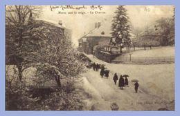 CPA -  (39) - Morez Sous La Neige - La Charrue - Morez