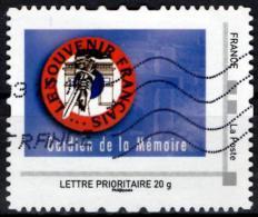FRANCE Montimbramoi Personalized Stamp Gardien De La Mémoire Guardian Of Memory Glaive Sword Schwert Espada - Timbres