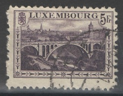 Luxembourg - YT 134 Oblitéré - Luxembourg