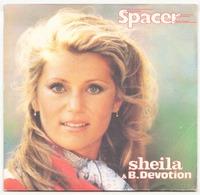 45 TOURS SHEILA & B. DEVOTION CARRERE 49553 SPACER / DON T GO - Vinyl Records