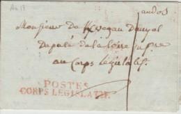 Drôme - Montélimar - Loire - Paris - Lettre Au Député De La Loire Du Baron De Faya - Vieux Papiers