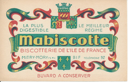 BUVARD - Mabiscotte, Mitry Mory - Biscottes