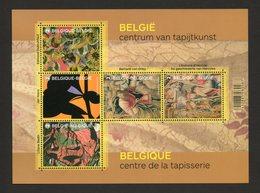 BELGIE 2015 TAPESSERIES  NEUF MNH ** SANS CHARNIERE - Blocs 1962-....
