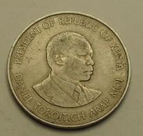 1980 - Kenya - Republic - 1 SHILLING - KM 20 - Kenya