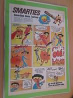 DIV415 : Clipping PUBLICITE SMARTIES ANNEES 70/80 -  Pour  Collectionneurs Avisés - Chocolat