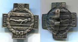 330 ANCIEN INSIGNE CONCOURS DE GYMNASTIQUE 1929 MULHOUSE 68 HAUT RHIN - Gymnastique