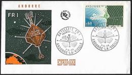 1966 - ANDORRE FRANCAIS - FDC + Y&T 177 [FR-1] + ANDORRE-LA-VIEILLE - FDC