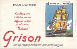 BUVARD - Produits D'Entretien GRISON - Vaisseau 1600 - Chaussures