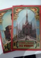 2 Dépliant Touristique Italie 32 Vue Avec Plan Des Lieux De Milan Et De Florence  Bon état - Dépliants Touristiques