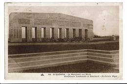 CPA - Cartes Postales -FRANCE -Saint Quentin - Monument Aux Morts-1933-S3620 - Saint Quentin