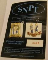 Lot De 2 Pin's POLICE SNPT Série Limitée 1400 Ex N°0445 Pin Pin's Pins - Police