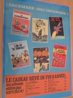 DIV415 : Clipping ANNONCE PARUTION NOUVEAUX ALBUMS DUPUIS 1965 -  Pour  Collectionneurs Avisés - Spirou Magazine