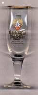 1 Verre Göttinger Pilsener  Brasserie Locale De Göttingen En Allemagne - Glasses