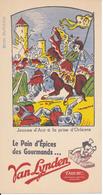 BUVARD - Biscottes Van Lynden - Jeanne D'Arc - Biscottes