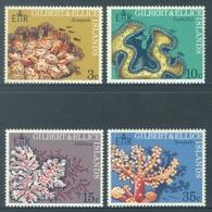 GILBERT ELLICE -  MNH/** - 1972 - CORAUX - Yv 194-197 -  Lot 18278 - Îles Gilbert Et Ellice (...-1979)