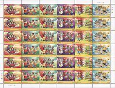 Malaysia 2017 S#1723-1728 Malaysia 2017 Children's Holiday Activities Full Sheet MNH (strip) Stamp Week Lego Badminton - Malaysia (1964-...)