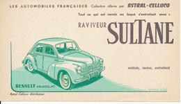 BUVARD - Peinture Raviveur Astral - Renault 4 CV - Peintures