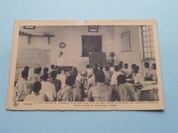 CONGO A L'école Normale De LULUABOURG Haut-Kasai : Missiën Van SCHEUT ( Punaise ) Anno 19?? ( Zie Foto Voor Details ) ! - Missions