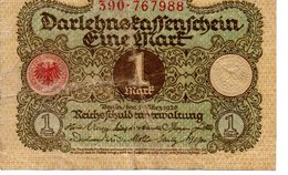 1 MARK  1920 - [ 3] 1918-1933 : Weimar Republic
