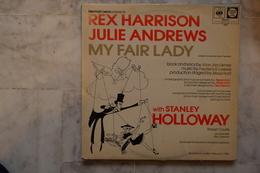 REX HARRISON JULIE ANDREWS MY FAIR LADY LP ANGLAIS DE 1975 - Vinyl Records