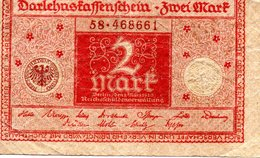 2 MARK  1920 - [ 3] 1918-1933 : Weimar Republic