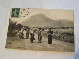 41f   AUVERGNE UNE NOCE 1908 - Autres Communes