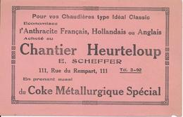 BUVARD - TOURS, Chantier Heurteloup - Anthracite, Coke - Autres