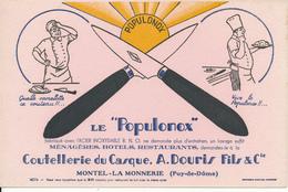 """BUVARD - Coutellerie , Le """"Populonox"""" - Montel La Monnerie, 63 - Autres"""