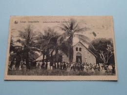 CONGO Léopoldville Sortie De La Grand'Messe, Le Dimanche : Missiën Van SCHEUT () Anno 1926 ( Zie Foto Voor Details ) ! - Missions