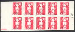 68) Carnet 2630 C2 Avec R.E. - Markenheftchen