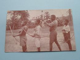 Coquilhatville CONGO / Archers BOKOTE : Missionnaires Du Sacré Coeur BORGERHOUT () Anno 1930 ( Zie Foto Voor Details ) ! - Missions