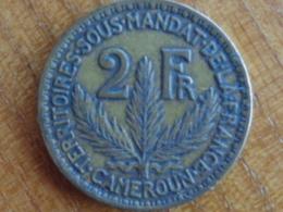 CAMEROUN SOUS MANDAT DE LA FRANCE, 2 FRANCS 1924 - Cameroun