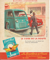 BUVARD - Biscottes JEM - Le Code De La Route - Zwieback