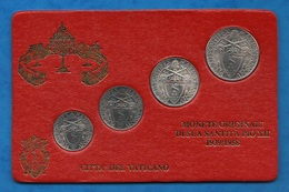 Vaticano 0.20 + 0.50 + 1 + 2 Lire 1942 Papa Pio XII Papal Vatikan State - Vaticano