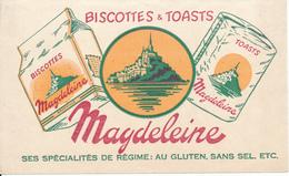 BUVARD - Biscottes MAGDELEINE - Biscottes