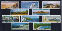 GREECE STAMPS 2004/ GREEK ISLANDS PART I(VERTICALLY IMPERFORATE)-5/4/04-USED- COMPLETE SET - Grèce