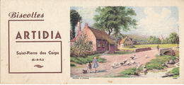 BUVARD - Biscottes ARTIDIA, Saint Pierre Des Corps (37) - Zwieback