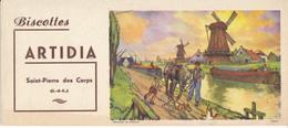 BUVARD - Biscottes ARTIDIA, Saint Pierre Des Corps (37) - Biscottes