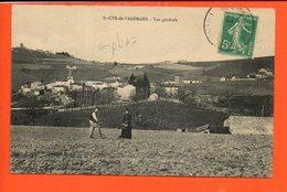 42 Saint CYR De Valorges - Vue Générale (pliée) - Other Municipalities